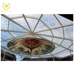 Environmental friendly single layer ETFE film tension structure