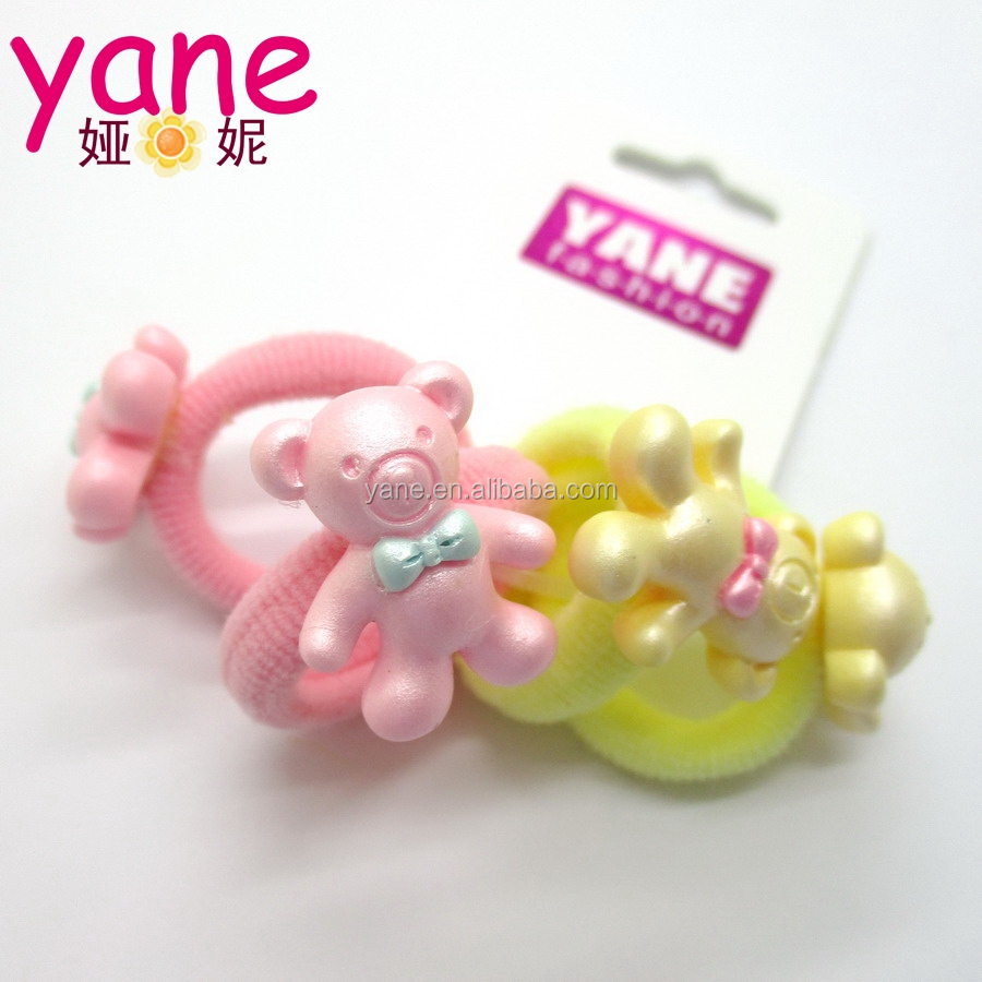 Wholesale Elastic Hair Ties Girls Pony Tails Types of Hair Bands
