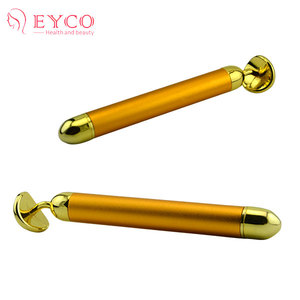 Vibrating Beauty Energy Bar With double gold ball with many functions of massage and energy bar machine