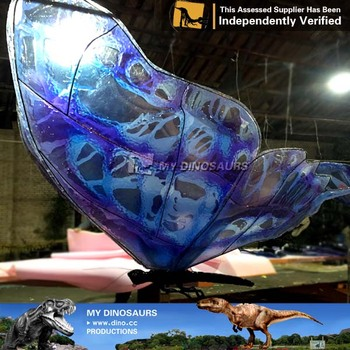 MY Dino-C039 Large animatronic moving butterflies