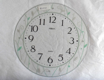 Wall Clock Face GlassClock Oval GlassWall Clock Glass Square