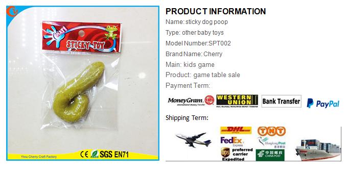 Novelty Design Funny Kids Toy Sticky Dog Poop - Buy Sticky Toy,Dog Poop,Dog  Shit Product on Alibaba com