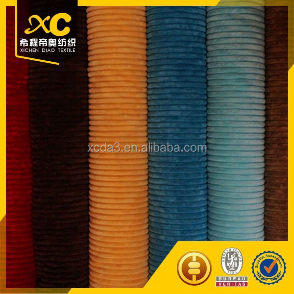 100% cotton heavy corduroy fabric for table cloth