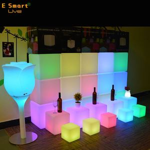 led light chair battery operated led cubes bar chair