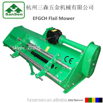 PTO Flail Mower for tractor Hydraulic flail mower Rear Flail Mower Mulcher