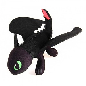 How To Train Your Dragon Night Fury Toothless 23cm Soft Plush Stuffed Doll Toy