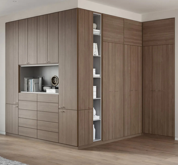 Built In Wardrobes With Sliding Frosted Glass Door Bedroom