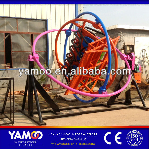 [Yamoo] Amusement Park Rides Manufacturer 6 Seats <strong>Human</strong> Gyroscope For Sale