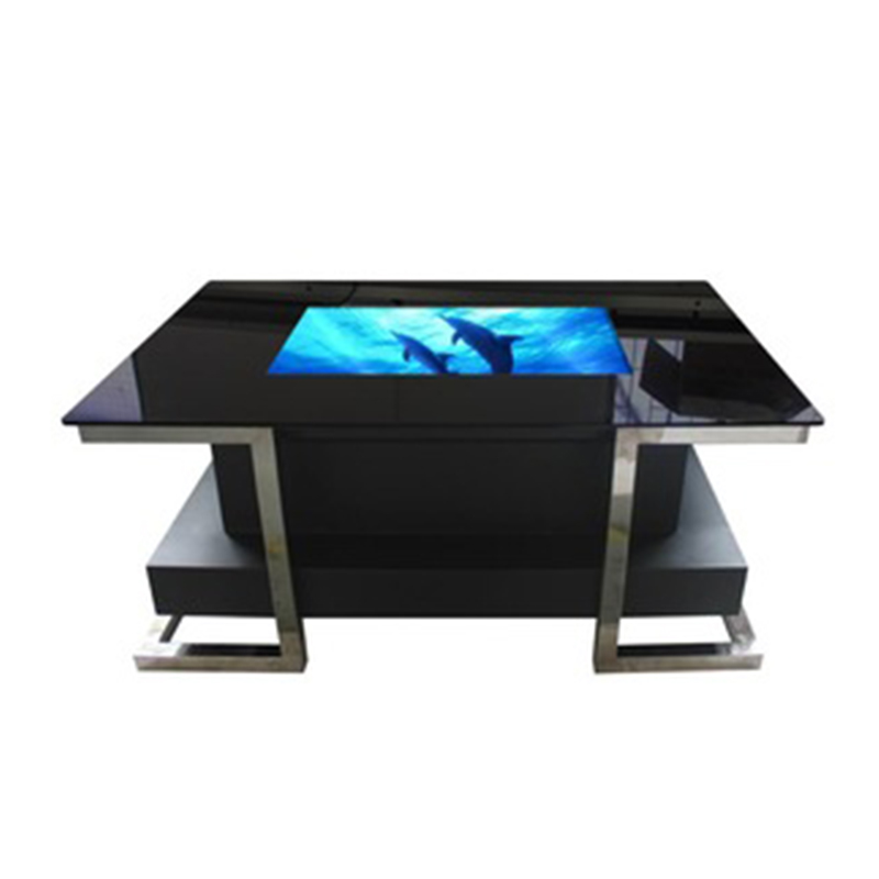 "office room 32"" popular waterproof multi touch screen coffee table"