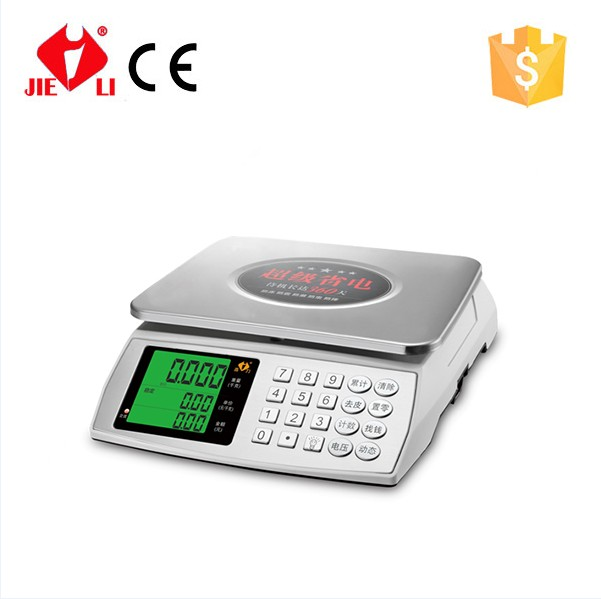 electronic price weighing weight scale with largre display