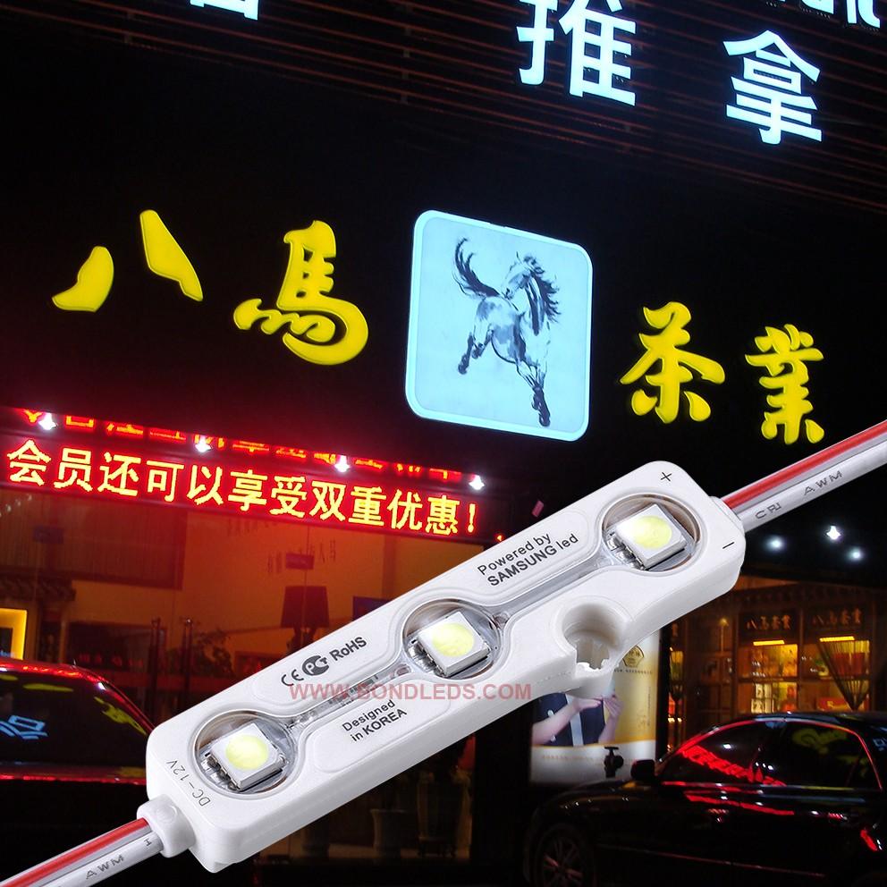 Rgbw Smd 5050 Dc12v Led Module Nc Korea Led Injection Module With ...