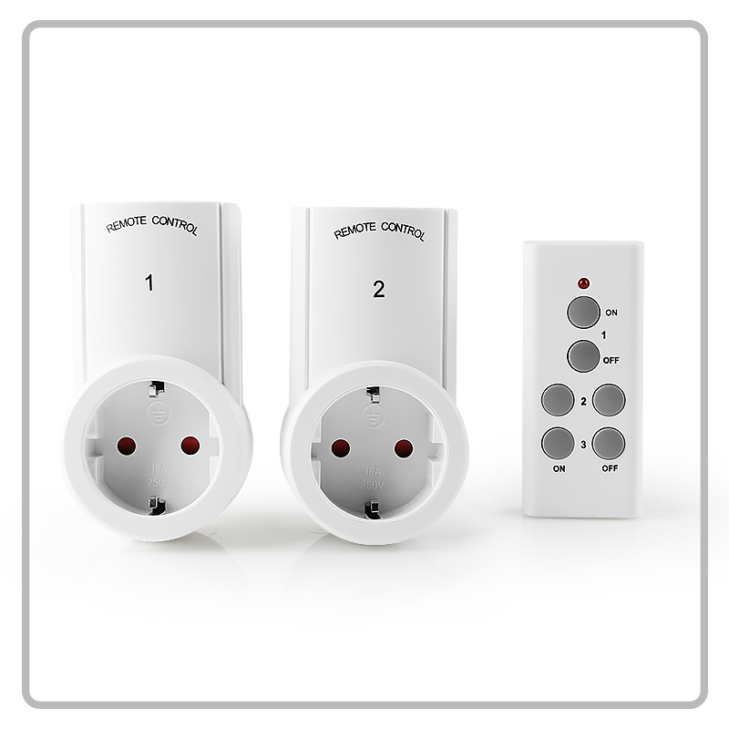 Top quality smart socket wireless remote control socket