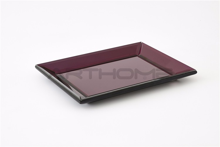 Direct Factory Price Newest Design Mirror Copper Tray