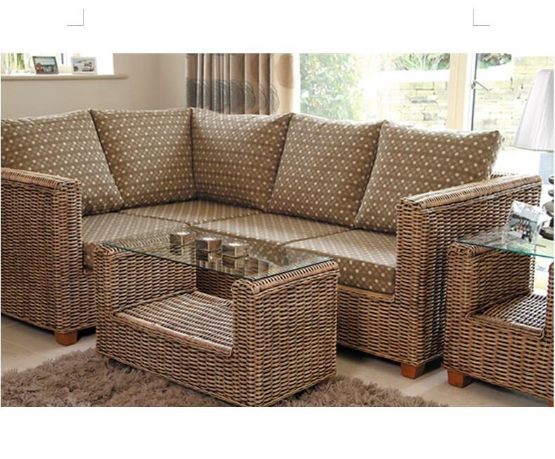 Modern Garden Furniture Philippines Outdoor L Shaped Sofa Set