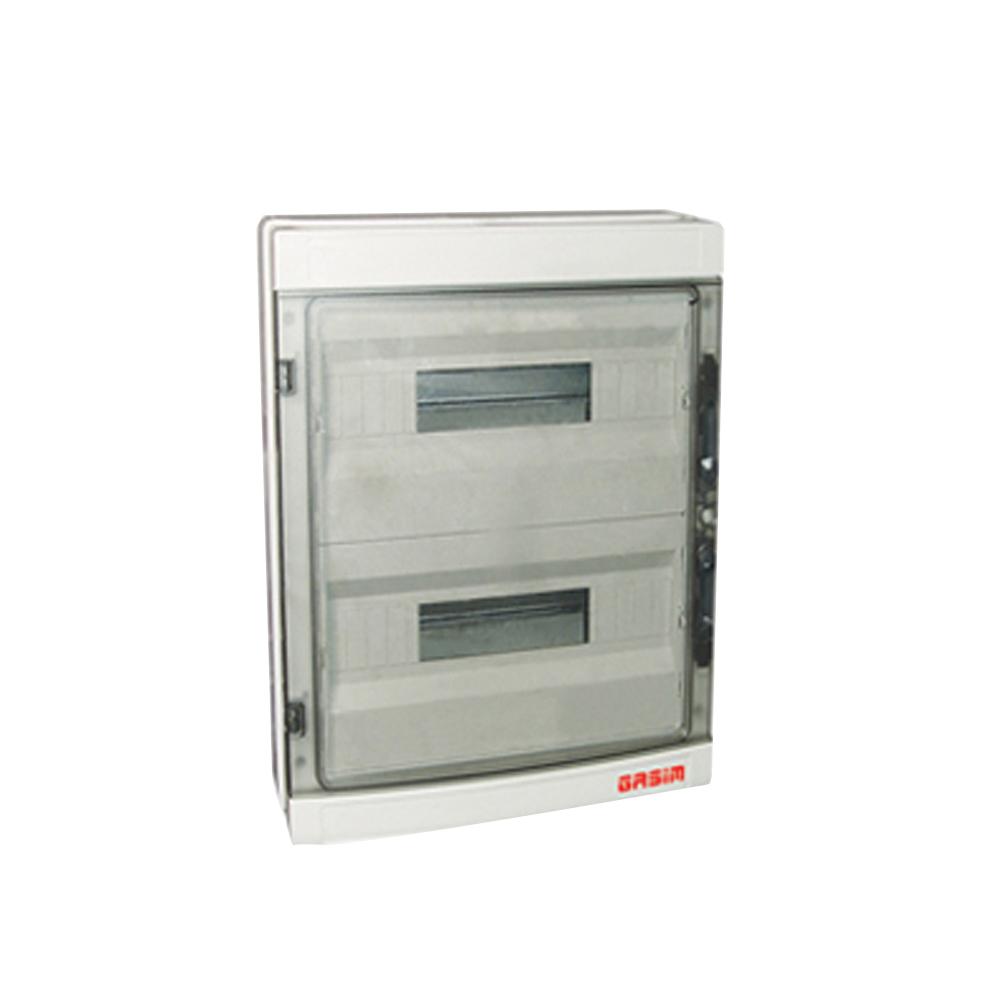 12ways 250*195*90mm Ip66 Transparent Cover Electrical Distribution Box Distribution Box Lights & Lighting