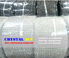 Real crystal 18 rows elastic sew on trimming rhinestone mesh rolls