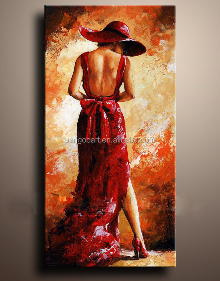 I want to sale my Dancing people oil painting