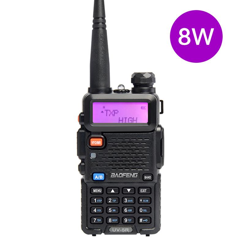 Airsoft 2 vie radio Dual Band Set Kit Baofeng Auricolare uv-5r UK 100/%