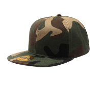 Promotion Camo Snapback Caps with 3D Embroidered,camo flat bill cap snapback