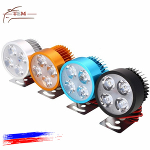 New Arrival Car Styling DC 12V LED Headlight Universal Motorcycle Handlebar Lights Waterproof Lamp