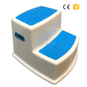 Cheap promotional Plastic 2 step stool