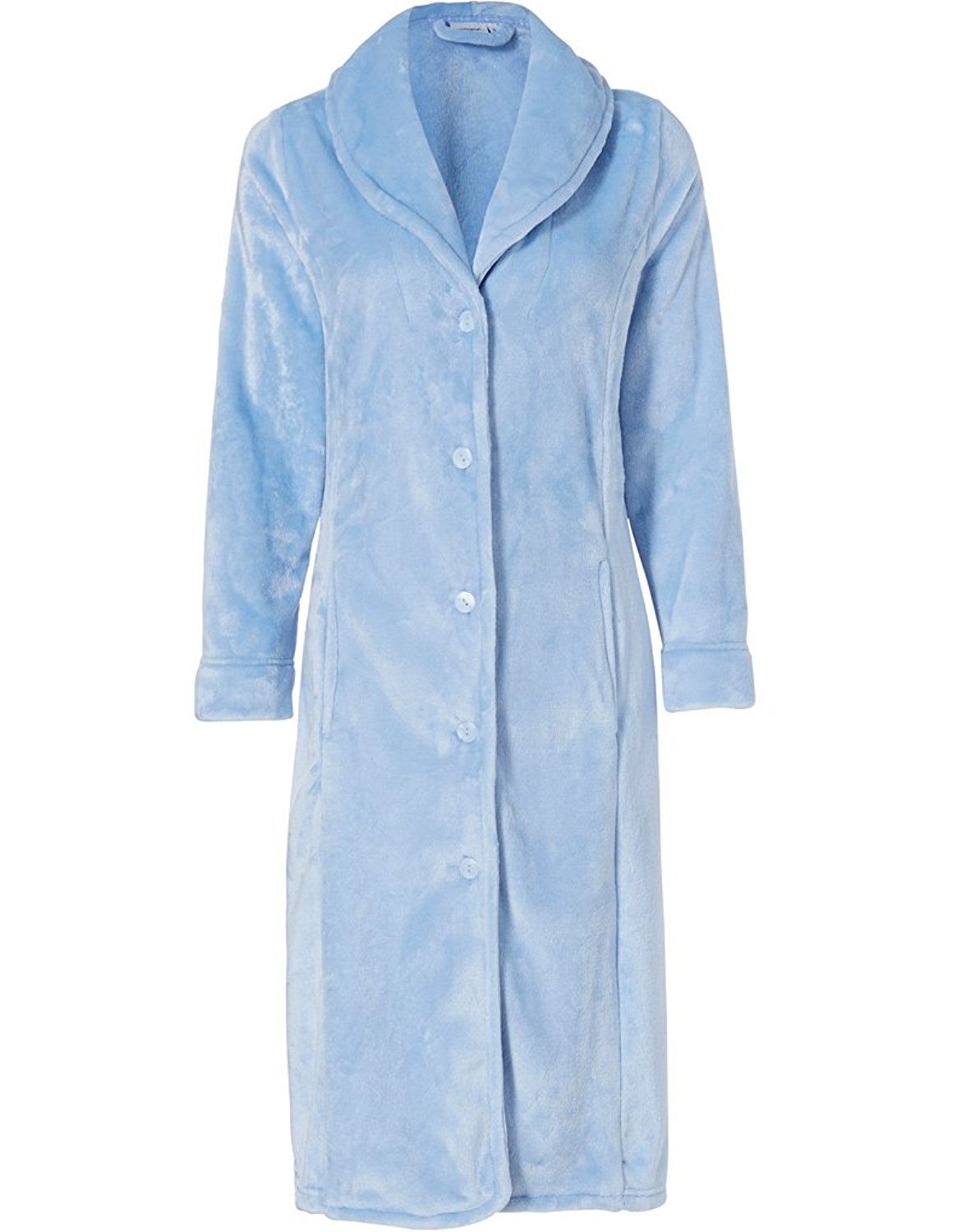 418cbec2ed49 Get Quotations · Pastunette 7072-365-9-956 Women s Silver Dressing Gown  Dressing Gown