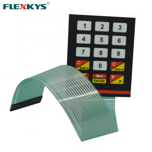 Fuel dispenser oiling machine poly dome membrane keypad