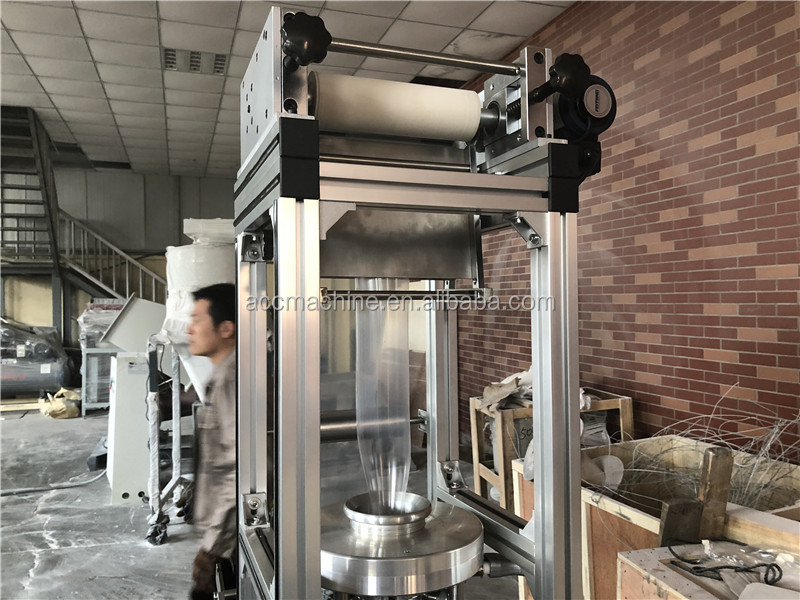 lab Film Blowing Machine Blow Moulding Type and Film Application Plastic Bag Film Blowing Machine
