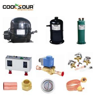 COOLSOUR Refrigeration Parts, Complete Refrigeration Spare Parts