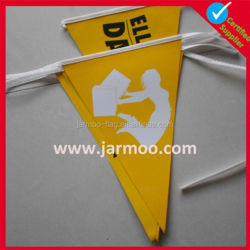 High quality free artwork flag bunting template