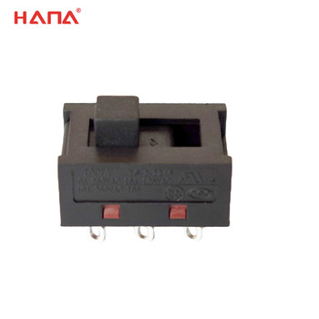 RoHS 3 position slide switch for home appliances with safety approval