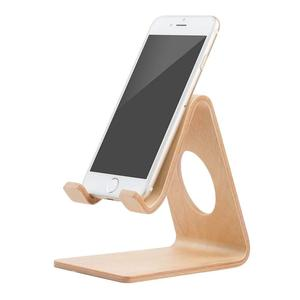 2019 Desktop Bamboo Cell Phone Holder and wood phone stand