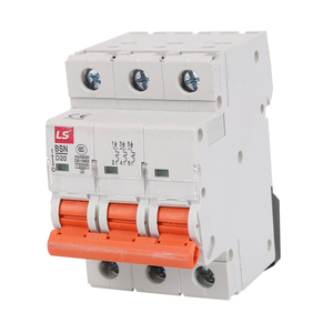 3 pole 20A electric mcb size with high breaking capacity