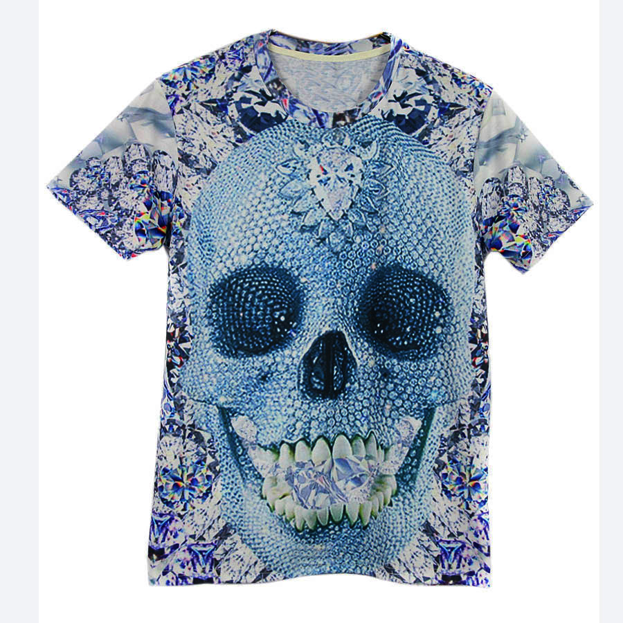 2015 high clear digital full print patterns tshirts Custom t shirt digital printing