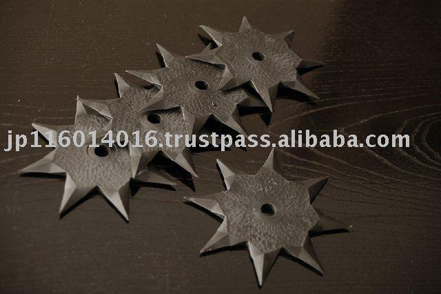 Rubber Shuriken NInja Star // From Japan - Shiho  -