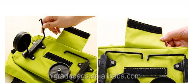 foldable trolley shopping bag vegetable