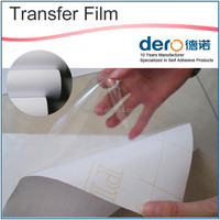 Wholesale White 60mic vinyl transfer film for craft cutter / printers / decals