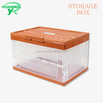 Clear Plastic Folding Boxes Flat Plastic Containers Foldable for Sale. View larger image & Clear Plastic Folding Boxes Flat Plastic Containers Foldable For ...