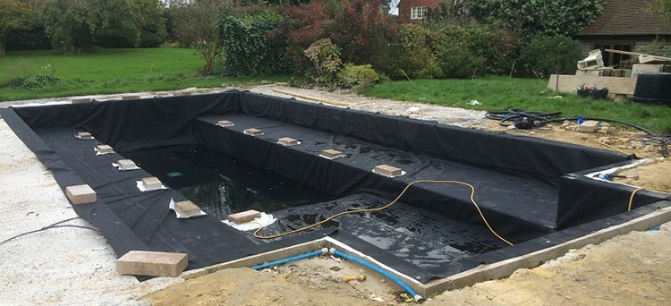 Cheap price epdm rubber pond liner for swimming pool buy for Rubber pond liner