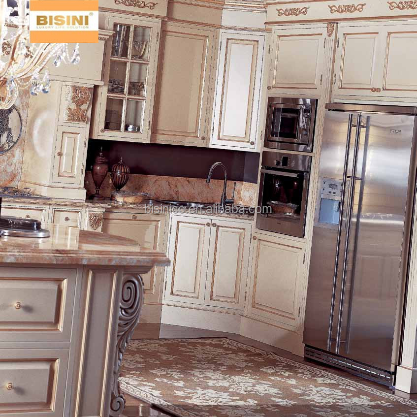Buy New Kitchen Cabinet Doors: Victorian Style Wooden Kitchen Furniture Set,New Design