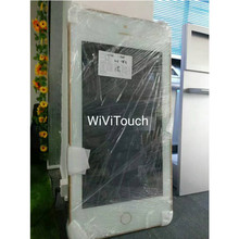 1080 p TFT LCD Iklan Kios 42 Inch Wall Mount iPhone Desain Emas Digital Display