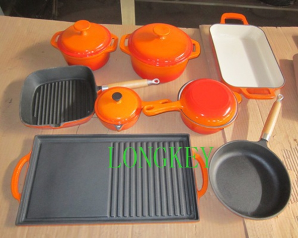2014 best selling product cast iron kitchen tools