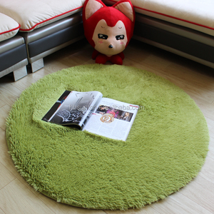 Fluffy Round Rug Carpets for Living Room Kilim Faux Fur Carpet Kids Room Long Plush rugs for bedroom Shaggy Area Rug