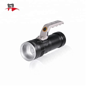 Aluminum Alloy Waterproof Zoomable Rechargeable High Power Portable Adjustable focal Search Light