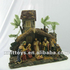 Resin Figurineof the Holy Family,the Birth of Jesus