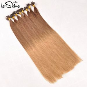 Human Hair Extensions Full Cuticle Ombre u Tip 613