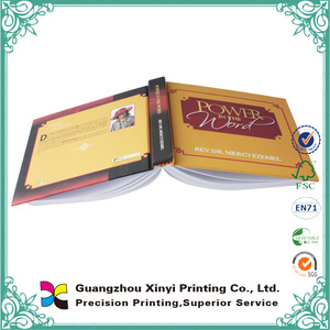 Factory price high quality fast production book binding