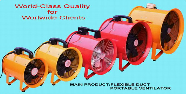 Industrial Exhaust Fans/ Portable Ventilation Fan ...