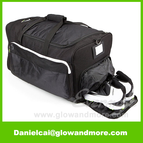 Hot selling High quality OEM sports bag with shoe compartment