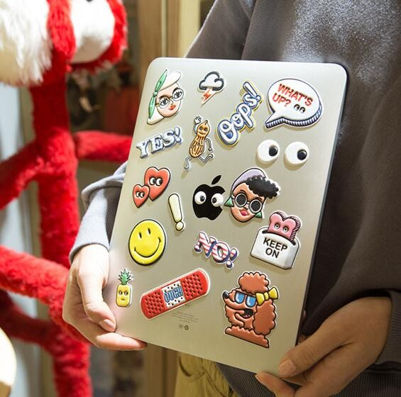 Wholesale diy decoration keyboard laptop decoration pu for Decoration keyboard
